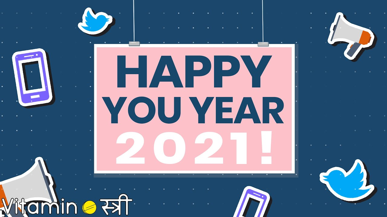 Happy You Year, 2021!