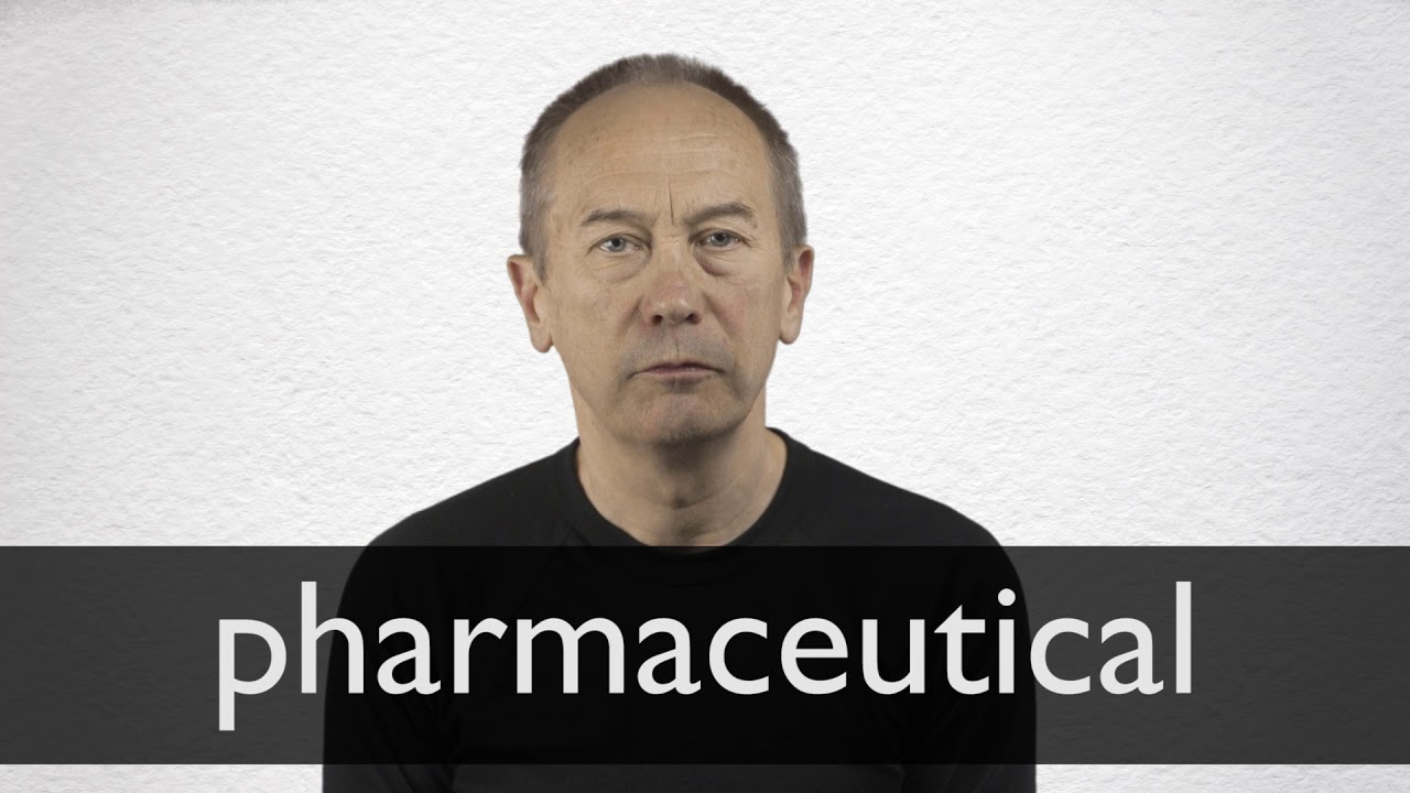 How to pronounce PHARMACEUTICAL in British English
