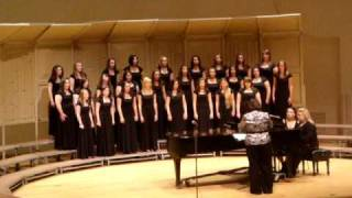 "NDHS Treble Chorus - ""Weep No More"""