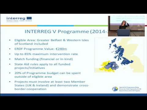INTERREG VA - Environment Call Funding Workshop