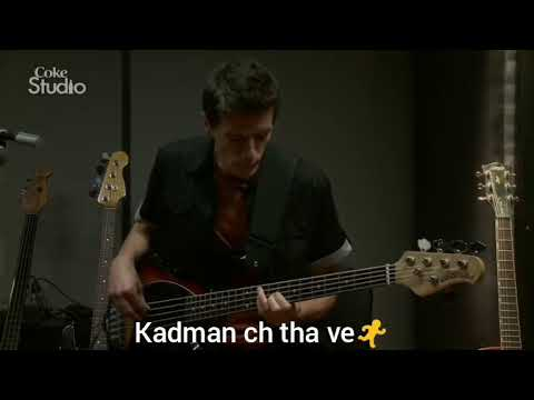 Channa | coke studio season 9 | Atif aslam | WhatsApp status song with lyrics