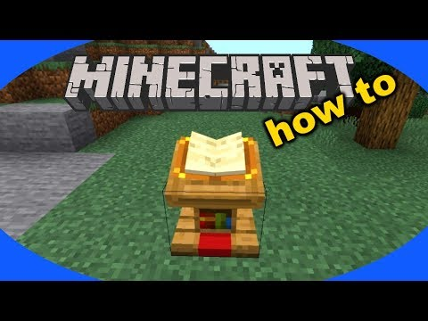 How To Craft And Use A Lectern In Minecraft