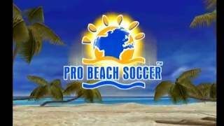 Pro Beach Soccer gameplay