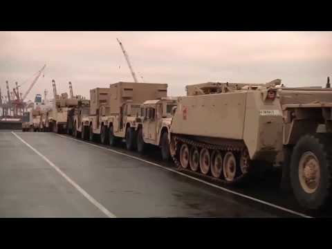 US tanks arrived in Poland | Ukraine Today