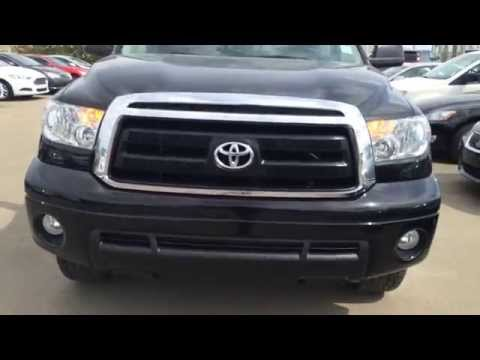 """Pre Owned Black 2010 Toyota Tundra 4WD Double Cab 146"""" 5.7L SR5 - Fort McMurray, Alberta"""