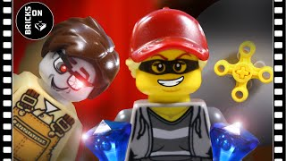 Lego Police Museum Heist Bank Robbery Police Academy School Fail Stop Motion Movie Brickfilm