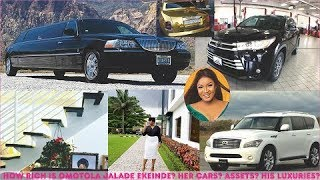 How rich is Omotola Jalade Ekeinde Her Mansions Cars Assets amp Luxuries