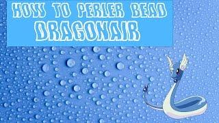 Dragonair Perler Bead Creation [ How to Perler Bead ]