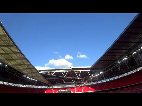 The UK Today - A Look Inside Wembley Stadium, London, England