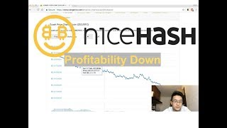 This is Why NiceHash BTC Profitability is Down