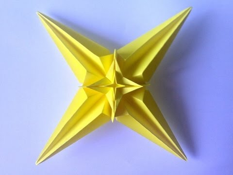 Tutorial 1 - 3D Star, Four Points. New Design. (NeoSpica NeoLiveArt)