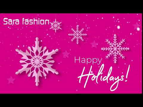 Sara Fashion   Happy Holidays 2019/20
