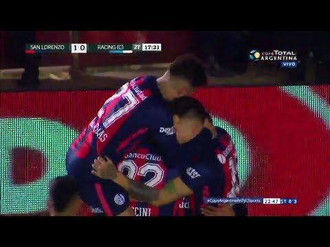 San Lorenzo le ganó con lo justo a Racing de Córdoba y avanzó
