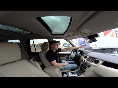 Real Videos: 2014 Land Rover LR4 Luxury SUV Review