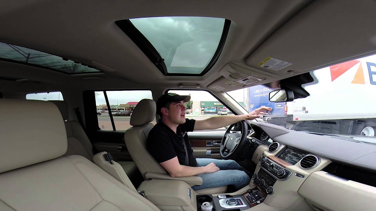 Real Videos 2014 Land Rover LR4 Luxury SUV Review