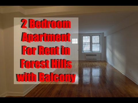 Large 2 bedroom apartment with balcony for rent in Forest Hills, Queens, NY
