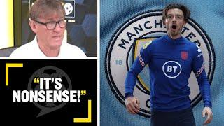 """""""IT'S NONSENSE!""""🙄 Simon Jordan & Danny Murphy discuss the future of Aston Villa's Jack Grealish"""