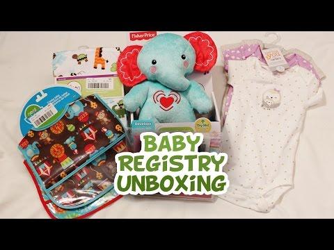 Target Baby Registry Unboxing {Part 1}