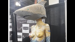 Monsterpalooza April 2018 - Tour - every booth