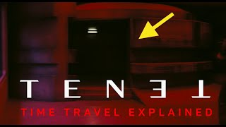 Tenet - Time Travel Mechanic explained with trailer, BTS footage, car chase reversed perspective