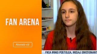 FanArena 12.03.2019   Fiica  Rinei Postolea Mesaj Emotionant Pentru Mama RAZBO N CA