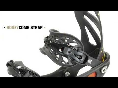 Flux Snowboard Bindings Strap Technology
