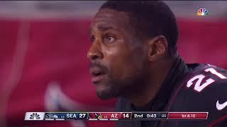 Isaiah Irving Scary Injury on Kickoff vs. Seahawks | NFL Week 7