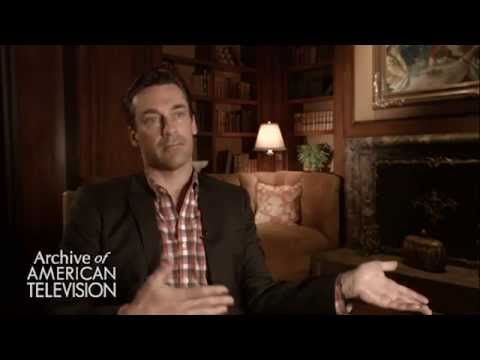 Jon Hamm discusses working with Vincent Kartheiser as Pete Campbell  EMMYTVLEGENDS.ORG
