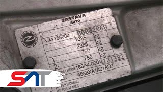 SAT: Bez broja motora nema ni registracije ni uvoza