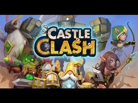 Castle Clash Upgrading Level 4 Army Camp