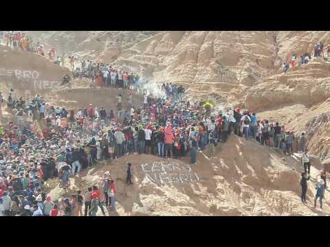 Bajada de los Diablos - Cerro Negro 2017