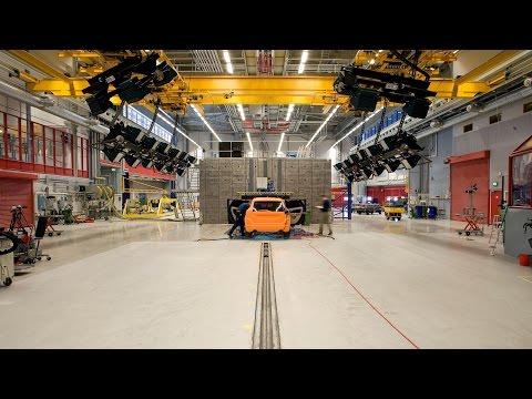 Volvo Cars Crash Test Laboratory