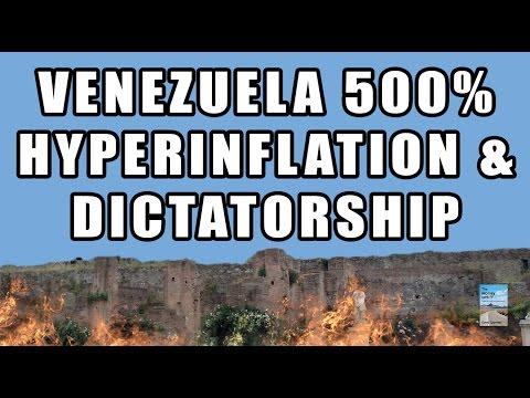 Venezuela 500% Hyperinflation Going Ballistic! Economic Chaos and Civil Unrest!