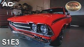 Wrecks to Riches | S1E3 | Dad Stole My Car | Chevy Chevelle