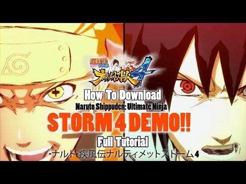 HOW TO DOWNLOAD: Naruto Shippuden Ultimate Ninja Storm 4 DEMO Full Tutorial