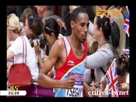 Eritrean sport news - Samiel Tzegay winnter of 10km in Holland by Eri TV