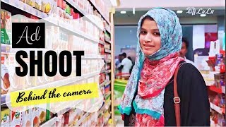 My Ad Shoot | What i wore | Behind the Camera | LULU Ad