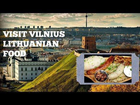 Visit Vilnius Lithuania Local Food and Restaurant