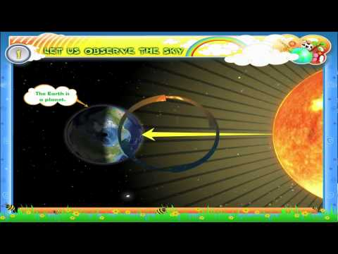 Sun And Stars | Geography Videos  For Grade 3 Kids  | KidsClassroom