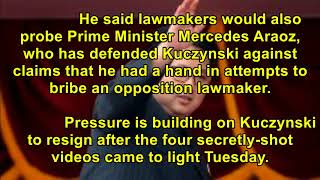 [Breaking News Today] The Latest: Peru lawmakers to investigate president's allies