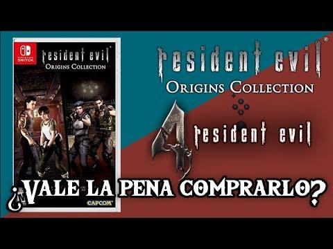¿Vale la pena comprar Resident Evil Origins / Resident Evil 4 para Switch? Mini Review