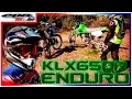 ?? Enduro Day #1 - Kawasaki KLX 650 R - Test Drive with mfpmatias