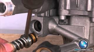 how to replace an unloader valve on your pressure washer pump
