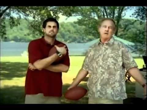 Manning, Dad, & Matt Leinart NFL commercial.flv