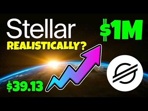 STELLAR LUMENS - COULD $39 XLM MAKE YOU A MILLIONAIRE... REALISTICALLY???