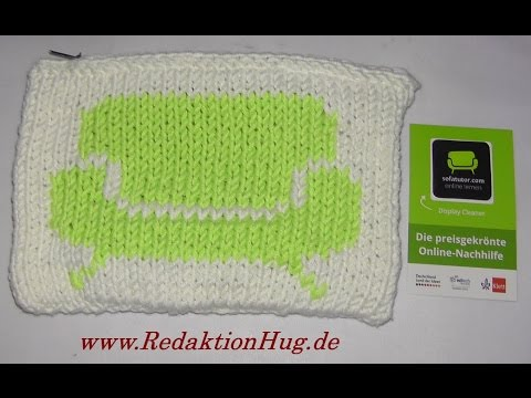 Stricken Logo Einstricken Nach Zählmuster Veronika Hug Youtube