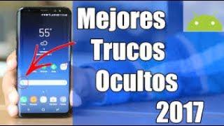 TOP 3 Increíbles Trucos Secretos y Ocultos Para tu teléfono móvil 2017
