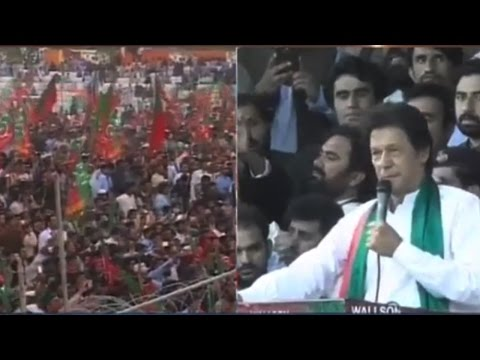 Imran Khan lashes out at federal govt for not giving Baloch their rights