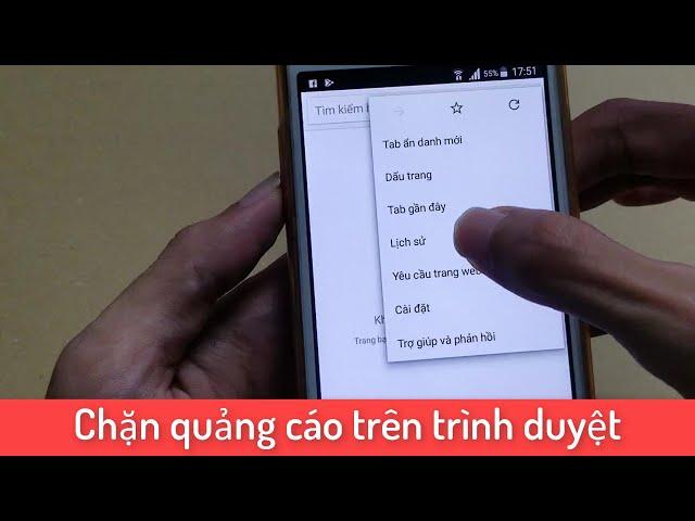 [Xứ Dừa Vlogs] Chặn quảng cáo rác trên Chrome Android hiệu quả 100%