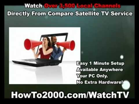 Compare Satellite TV Service | Watch Over 3500 Local Channels!